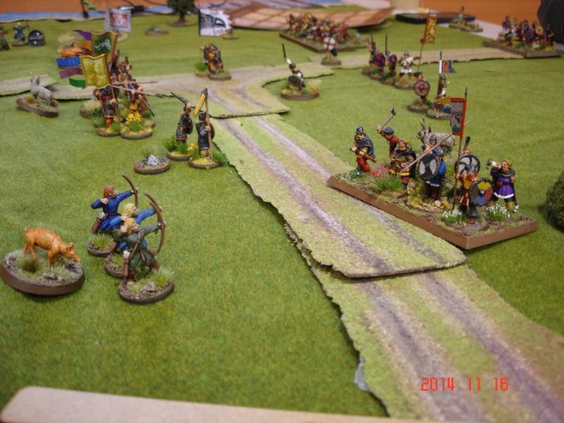 Chevauchée des Dragons de Vaires 2014: La bataille de Maldon Dsc02868