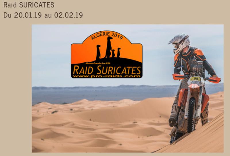 ALGERIE - Raid en Algérie  Motard11