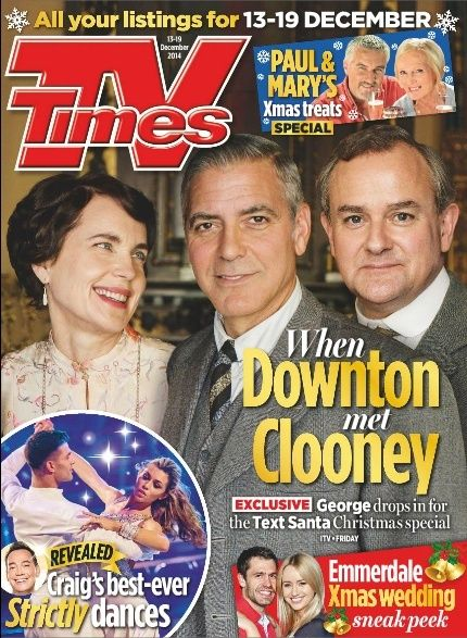 George Clooney to appear in Downton Abbey episode for charity - Page 3 Tv10
