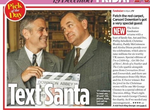 George Clooney to appear in Downton Abbey episode for charity - Page 3 Tv310