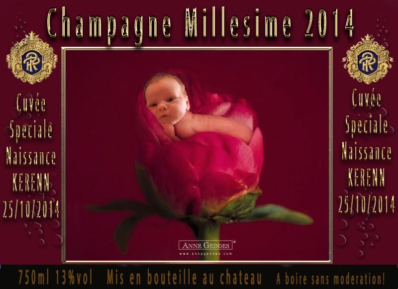 demande bouteilles naissance bébé Etique10