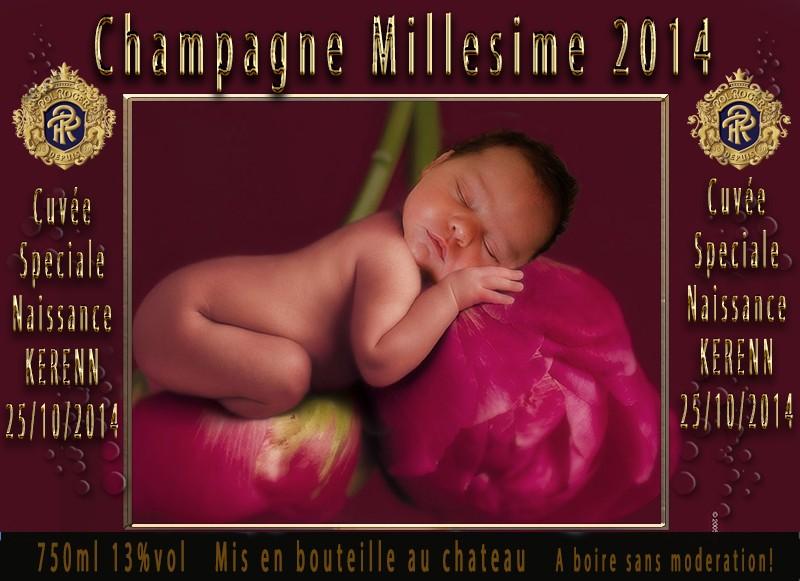demande bouteilles naissance bébé Etique11