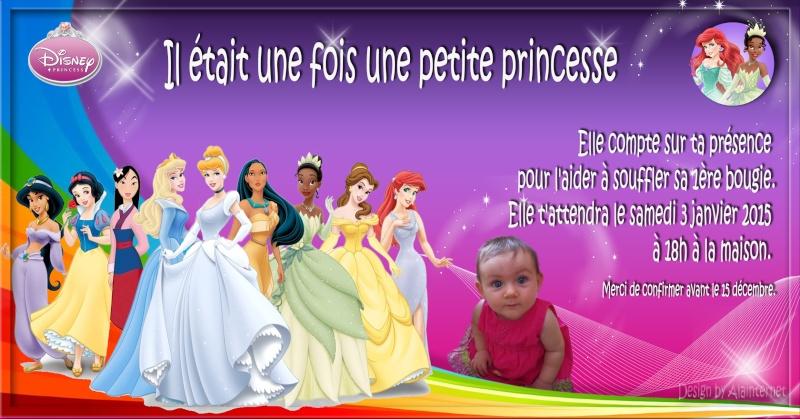 Invitation anniversaire princesse urgent Prince10