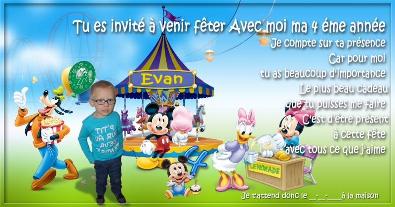 Invitation d'anniversaire  Sans_t25