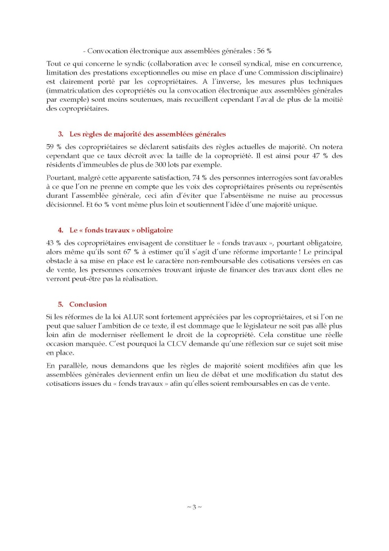 10nov 2014 - Evaluation enquête qualité Syndic Barome12