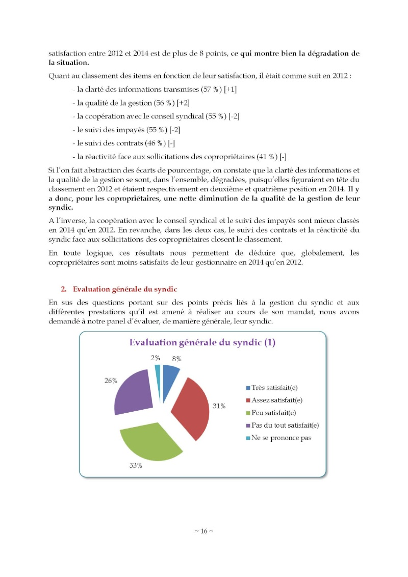 10nov 2014 - Evaluation enquête qualité Syndic Barome26