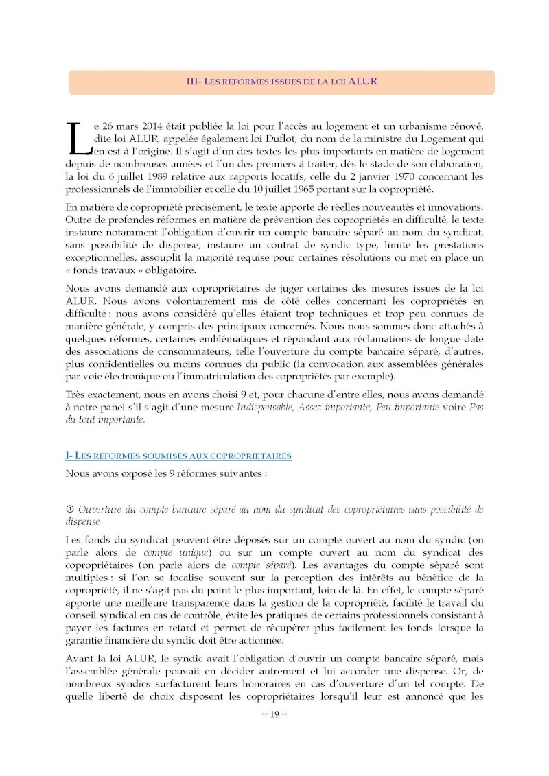 10nov 2014 - Evaluation enquête qualité Syndic Barome29