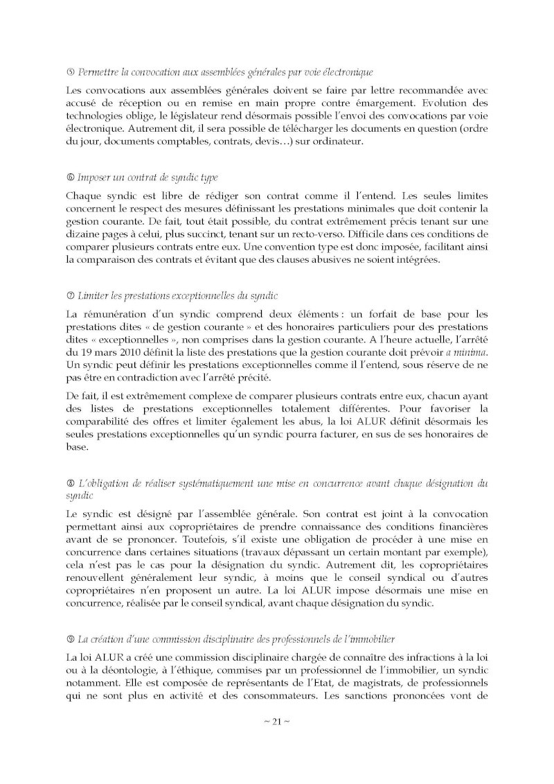 10nov 2014 - Evaluation enquête qualité Syndic Barome31