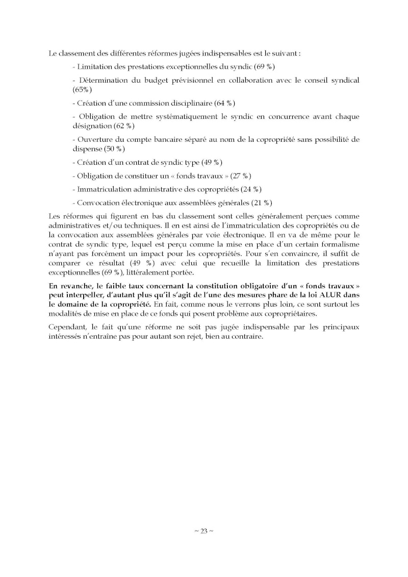 10nov 2014 - Evaluation enquête qualité Syndic Barome34