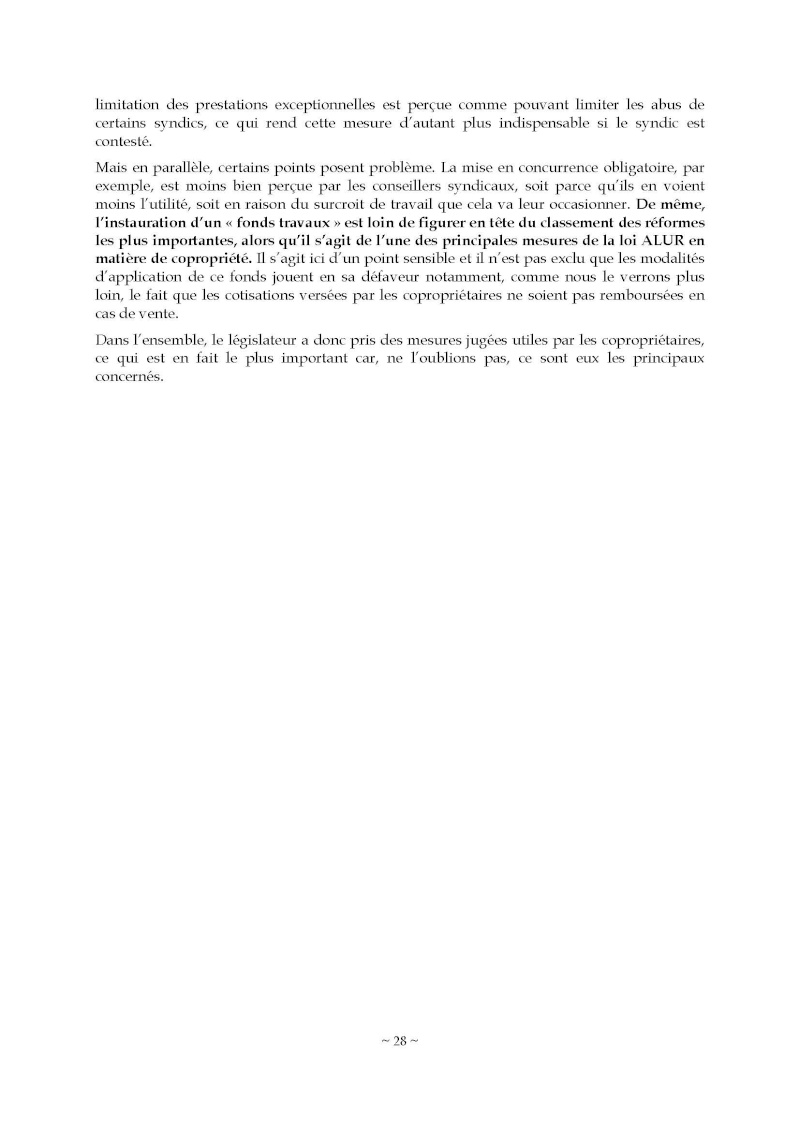 10nov 2014 - Evaluation enquête qualité Syndic Barome40