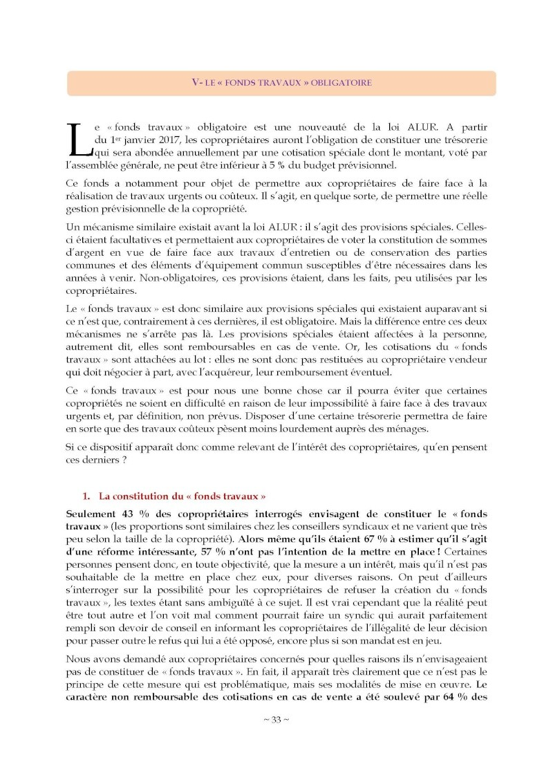 10nov 2014 - Evaluation enquête qualité Syndic Barome45