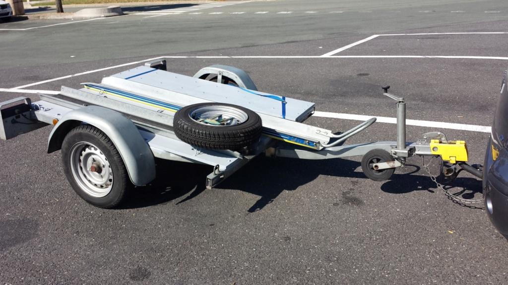 Remorque plateau moto basculant  20140912