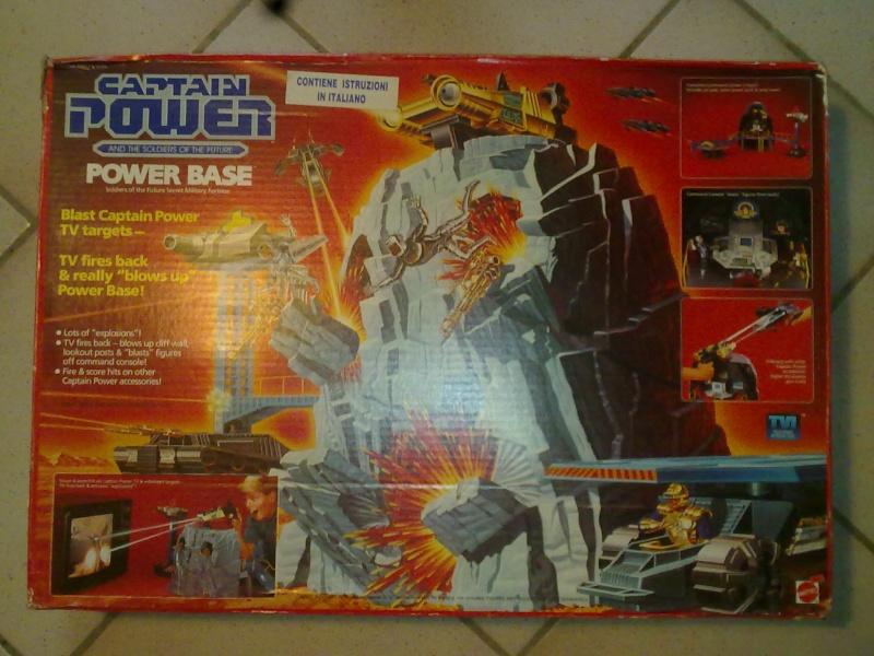 Captain Power Capitan Power intera collezione pezzi rarissimi tutti MISB fondi di magazzino con pezzi esclusivi americani introvabili! 27102019