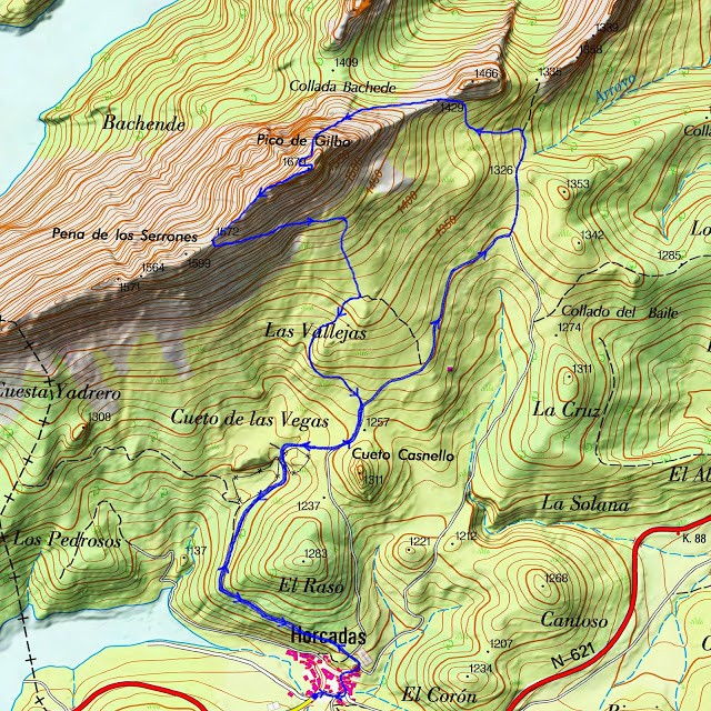 Alpinismo: finales de diciembre de 2014 - Ascensión al Gilbo, el Cervino leonés [CANCELADA] Gilbo-10