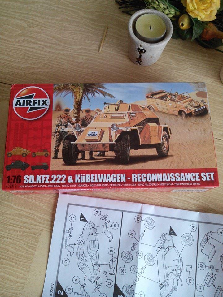 SDKFZ 222.kit airfix 1/76. 10734010