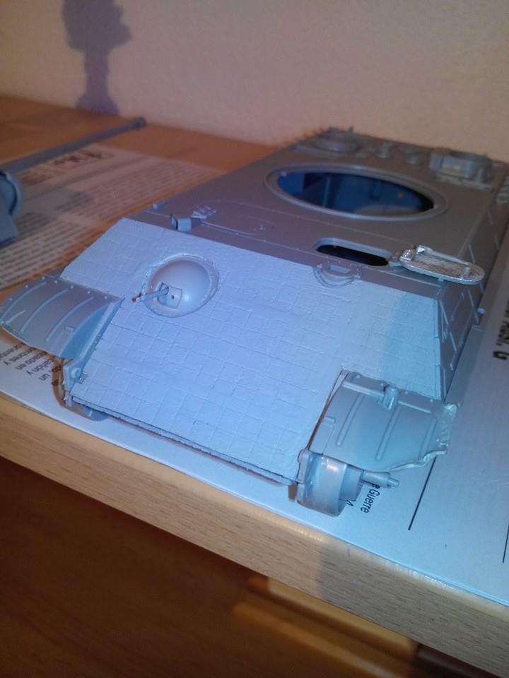 panther ausf G.kit italeri.reboitage du kit dragon.1/35 13958710