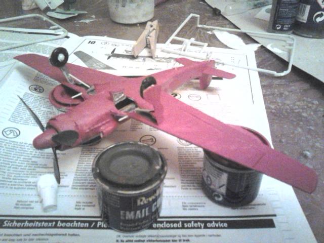 Ta 152 H rouge orange du Jg 301 ( maquette revell au 72 ) : Dsc_1721