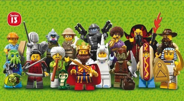 LEGO Minifigure Series 13 Confirmed! Series10