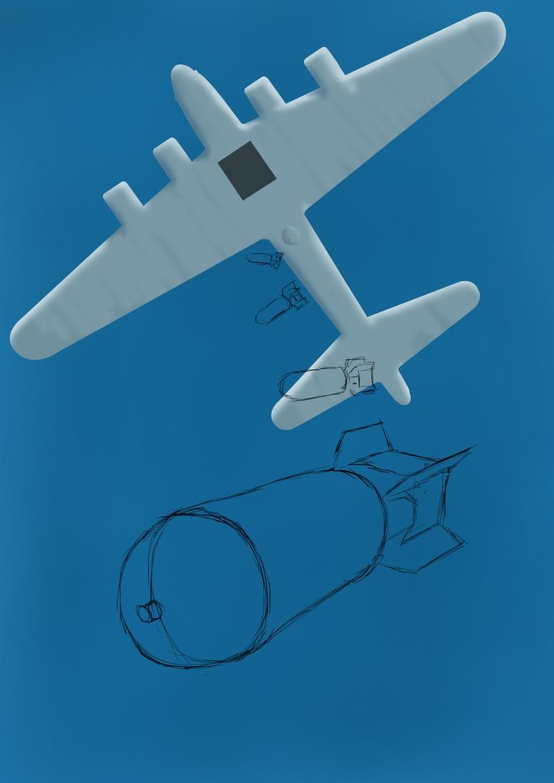 Bombardement Dessin10