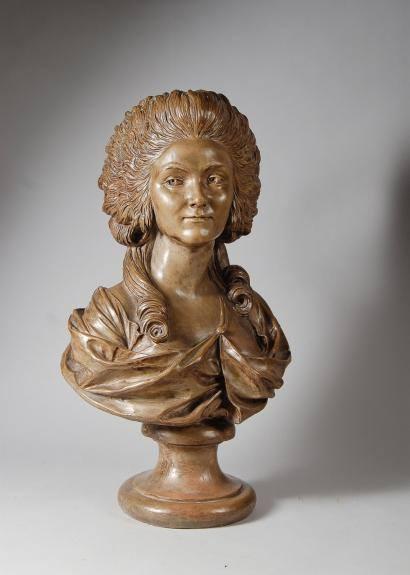 Sculpture : Les bustes de la princesse de Lamballe (présumée) 14932710