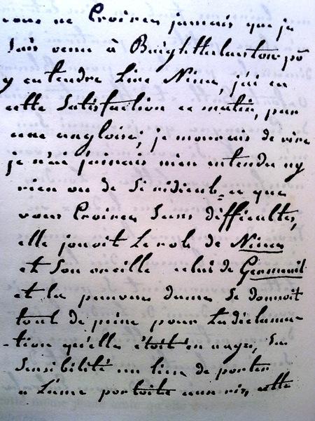 Lettres de la princesse de Lamballe Lettre10
