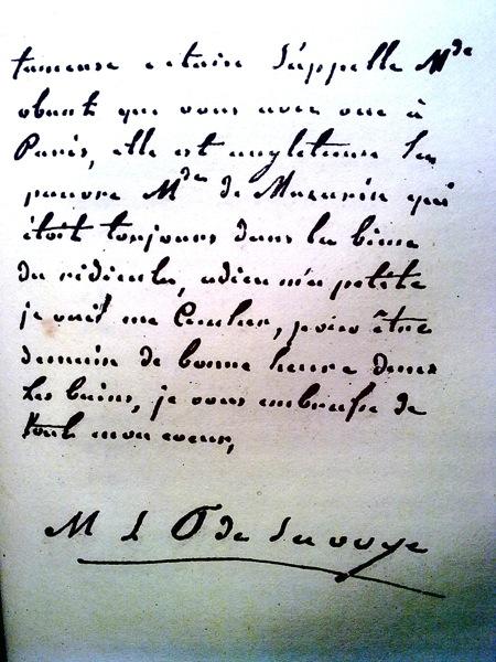 Lettres de la princesse de Lamballe Lettre12