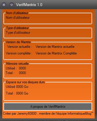[PAUSE][Mantrix] VerifMantrix 1.0 [40%] 2014-110