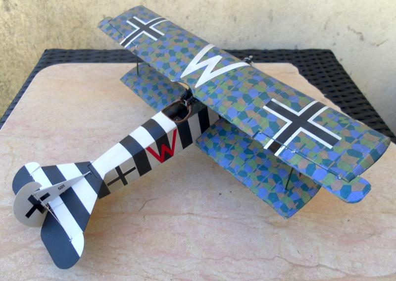 fokker DVIIF  wingnut wing 1/32 127