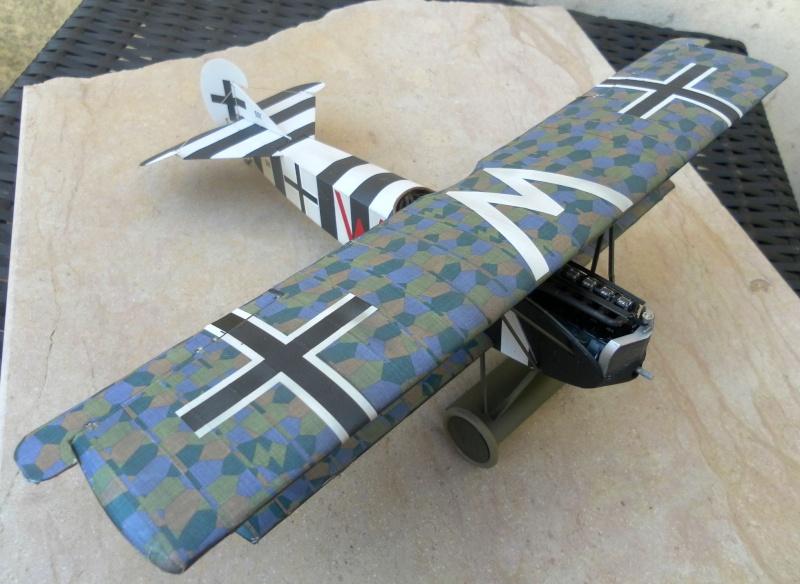 fokker DVIIF  wingnut wing 1/32 224