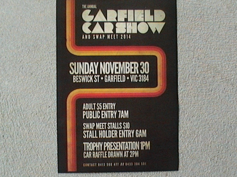 Garfield car show November 30 Garfie11