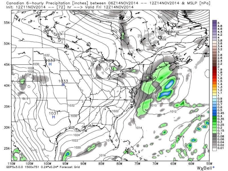 November 14th Possible first flakes for some!! Cmc_pr11