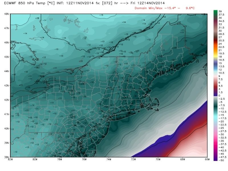 November 14th Possible first flakes for some!! Ecmwf_10