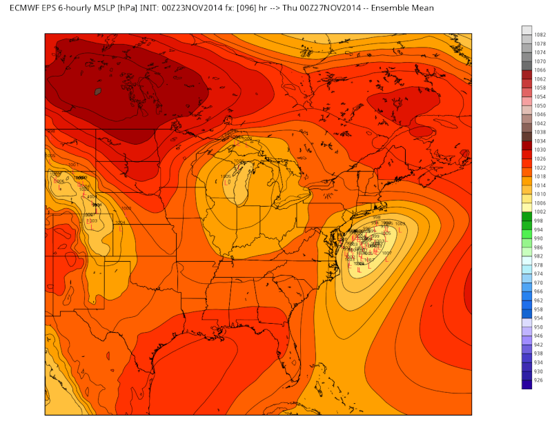 11/26 Strong Coastal Storm Possible - Page 5 Eps_sl11