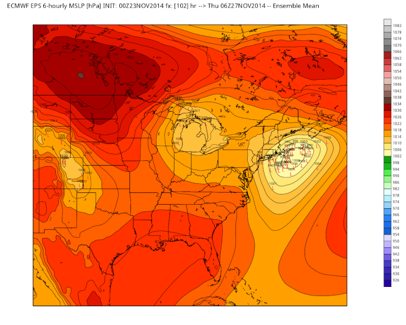 11/26 Strong Coastal Storm Possible - Page 5 Eps_sl12