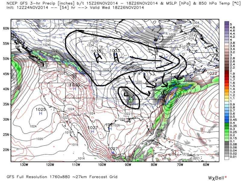 11/26 Strong Coastal Storm Possible - Page 21 Gfs_pr10