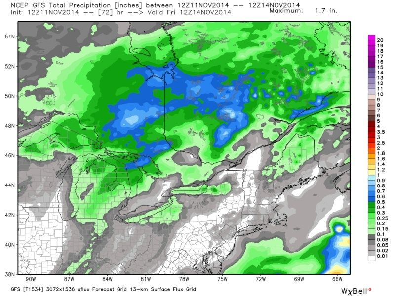 November 14th Possible first flakes for some!! Pgfs_t10