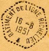 RICHELIEU (BÂTIMENT DE LIGNE) 51-0810