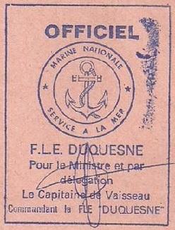 * DUQUESNE (1970/2007) * 77-0610