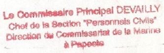 * FARE UTE - PAPEETE * 91-0310
