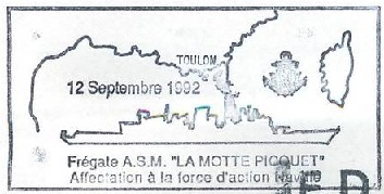 * LA MOTTE-PICQUET (1988/....) * 92-0911