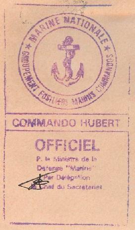 * COMMANDO HUBERT * 93-0110