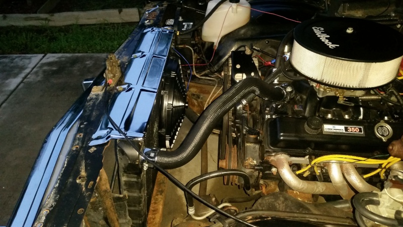 L98 Corvette aluminum water pump