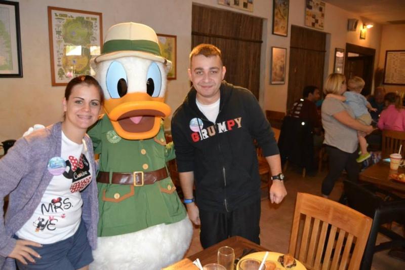 On fête nos 4ans de mariage a WDW puis Disney cruise line - Page 2 Donald10