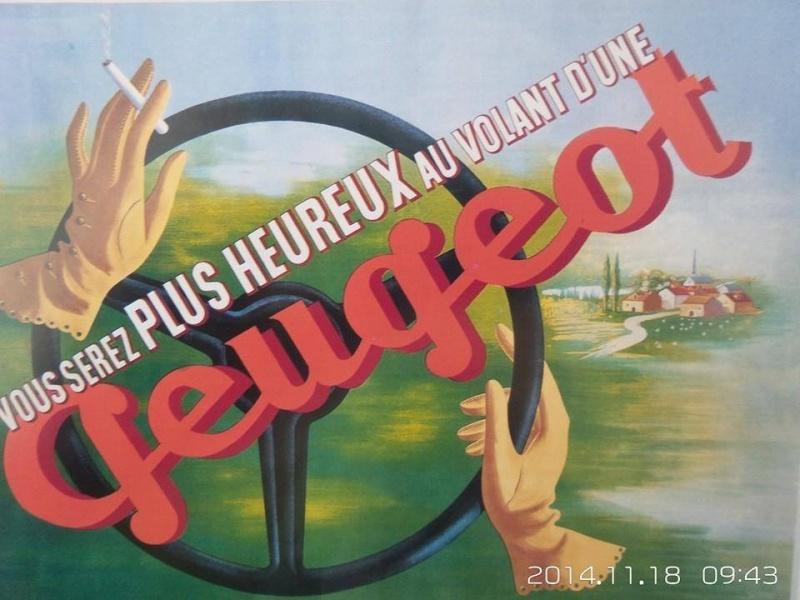 PUB Peugeot  d'époque 10409310