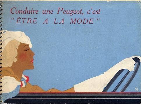 PUB Peugeot  d'époque 10433710