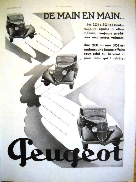 PUB Peugeot  d'époque 10675510