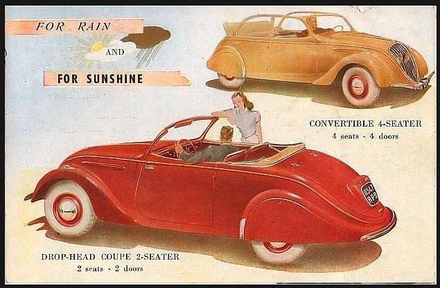 PUB Peugeot  d'époque 10801510