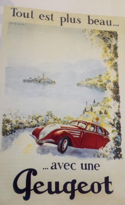 PUB Peugeot  d'époque 16582110