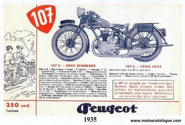 PUB Peugeot  d'époque 28191110