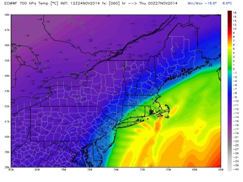 11/26 Strong Coastal Storm Possible - Page 22 Ecmwf_14